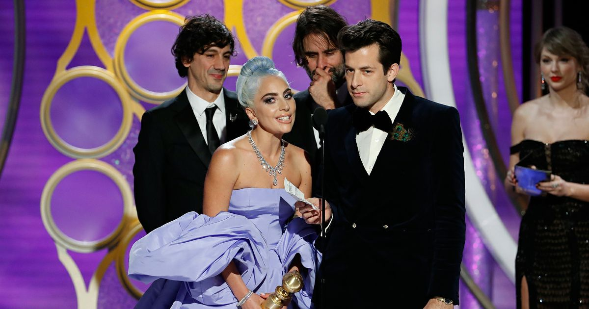 Lady Gaga & Mark Ronson - Golden Globe 2019 - © Paul Drinkwate